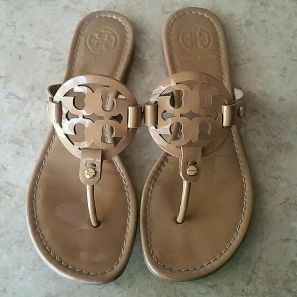 be54727d7c44f Tory Burch miller sandals. M 5acbe97aa4c485478c3591a8